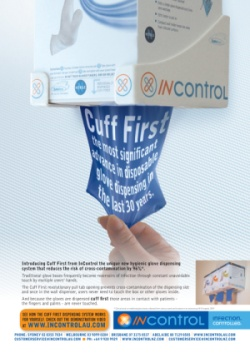 InControl Gloves Editorial & Advertisement
