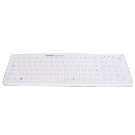 Clinell Easy Clean Silicone Keyboard - White