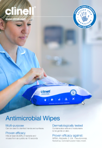 Clinell Antimicrobial Wipes Brochure