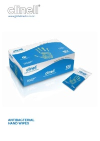 Clinell Antibcterial Wipes