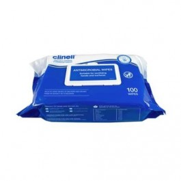 Clinell Antimicrobial Wipes 100