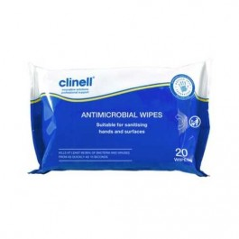 Clinell Antimicrobial Wipes 20