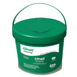 Clinell Universal Sanitising Wipes Bucket