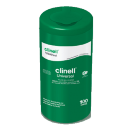 Clinell Universal Wipes Tub 100 pack